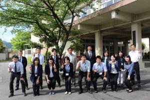 皇子山中学校2年生担当の先生方
