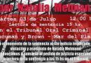 Sentencia por el fermicidio de Natalia Melmann