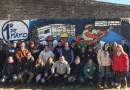 Maipú: realizaron mural por el día del trabajador