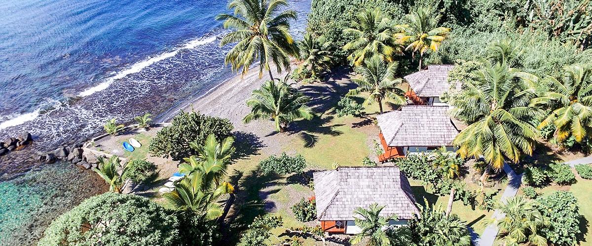 Blog voyage Tahiti Punatea Village