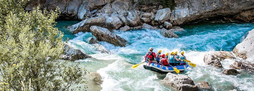 Visiter Gorges du Verdon - Rafting Verdo