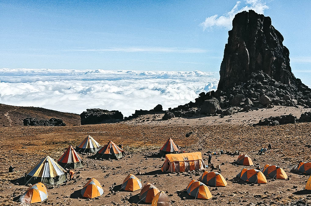 LAVA TOWER kilimanjaro