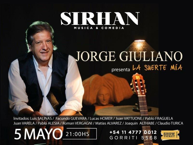 AUDIO. JORGE GIULIANO EN FM REENCUENTRO