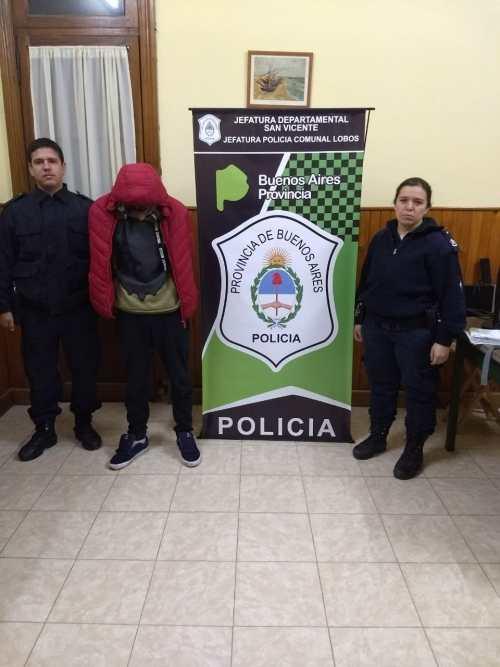 PARTE DE PRENSA POLICÍA COMUNAL – APREHENSIÓN