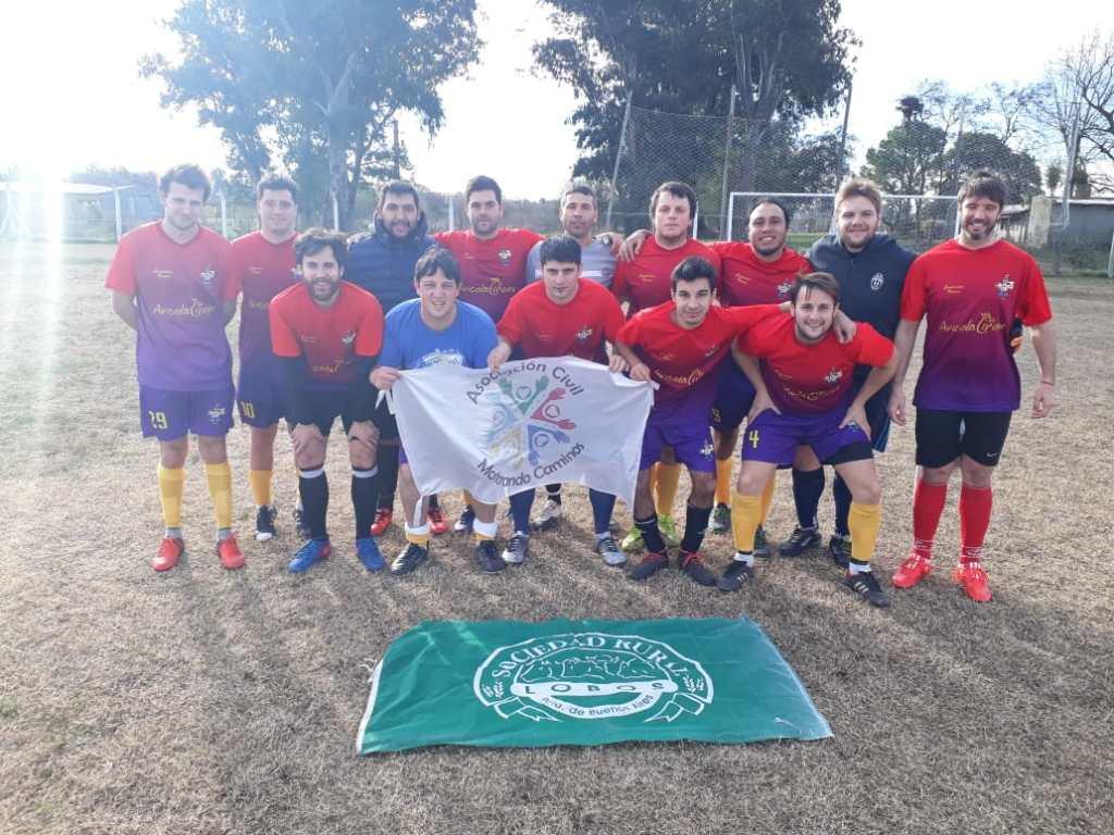 Copa Solidaria Sociedad Rural de Lobos, cuarta fecha.