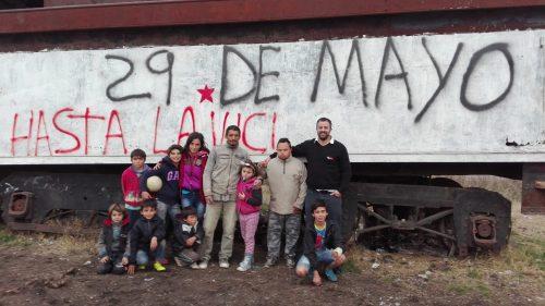 Audio. Amancar trajo donaciones al Centro Popular 29 de Mayo «Carlos Almirón»