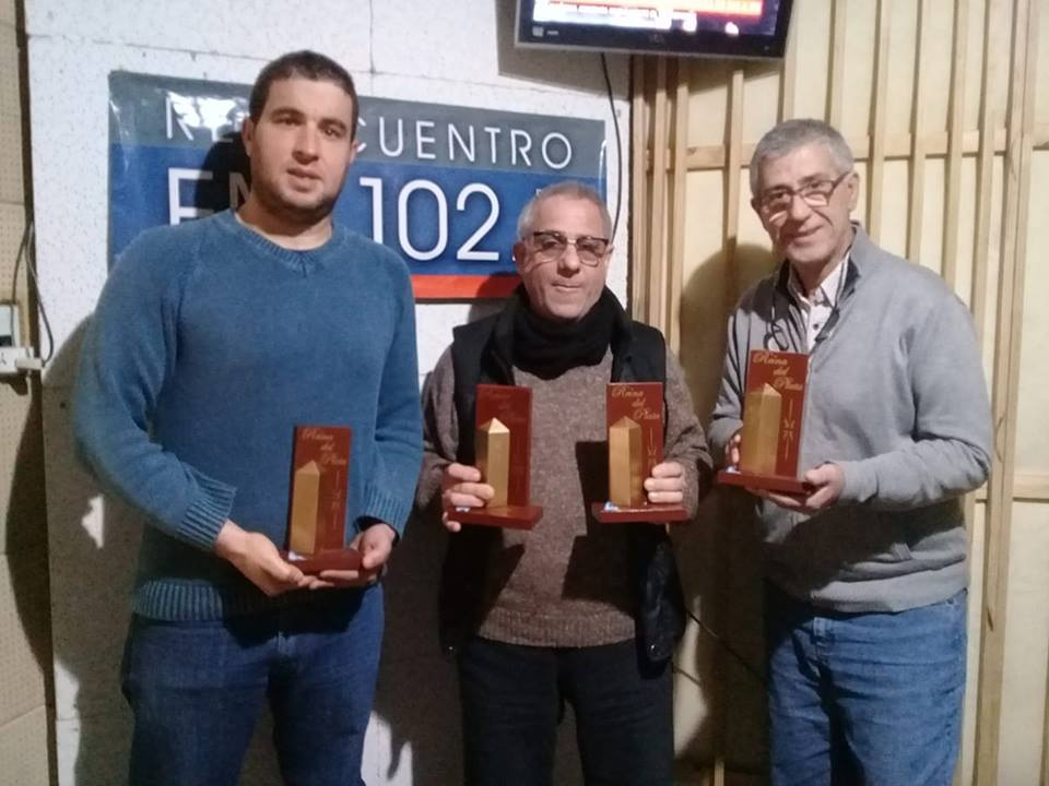 "AUDIO. GUILLERMO SAPIENZA RECIBIÓ 4 PREMIOS ""REINA DEL PLATA MEDIOS 2018""."