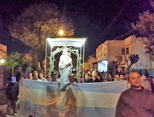 Parroquia San Vicente Pallotti. Lo que deja el paso de la Virgen de San Nicolás
