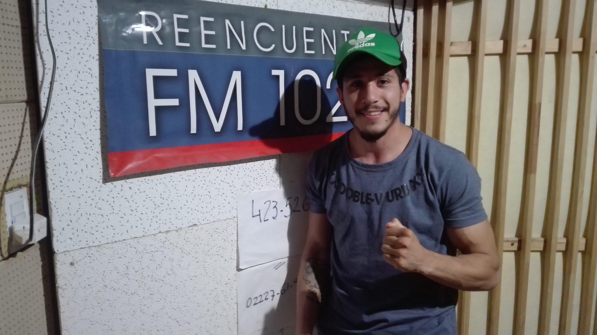 Audio. Vuelve el boxeo a Salgado de la mano de Matías Díaz.