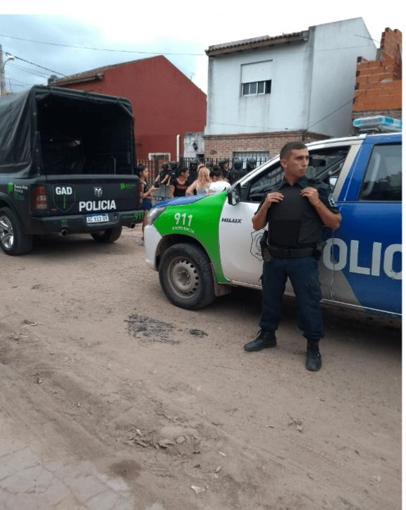 PARTE DE PRENSA POLICÍA COMUNAL-ALLANAMIENTO