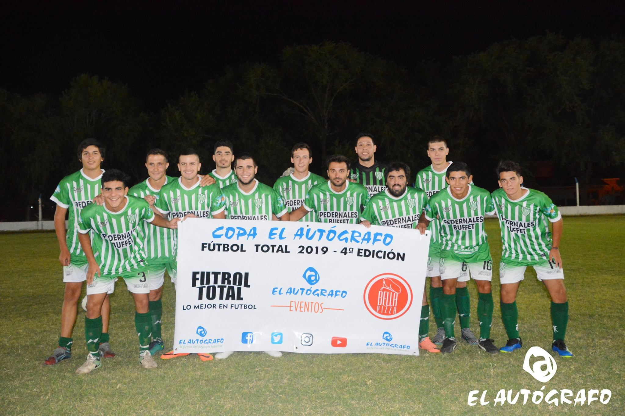 Copa El Autógrafo Fútbol Total