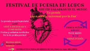 Festival de poesía en Lobos.