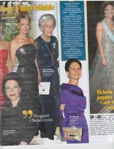Top 5 Nobel Dresses