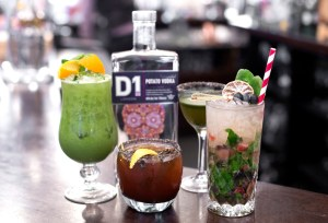 Superfood D1 Vodka Cocktails at Rivington Grill