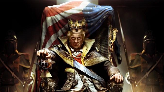 Trump Throne