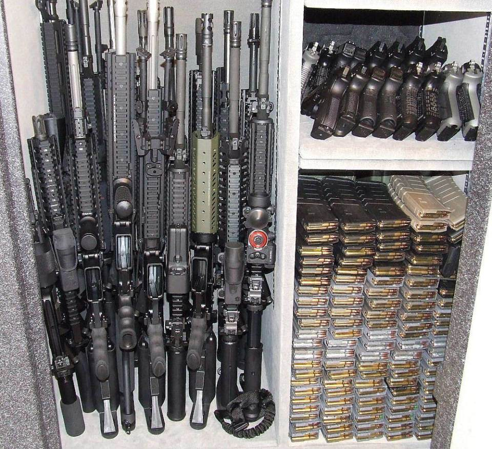 Stocked Gun Safe