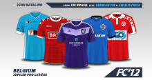 Belgium Jupiler Pro League 2016/17 kits