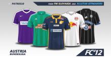 Austria Bundesliga 2016/17 kits