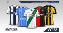 Argentina Primera Division A 2016/17 kits
