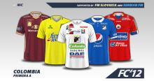 Colombia Liga Águila 2016 kits