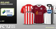 FC'12 Ireland – SSE Airtricity League Premier Division 2017