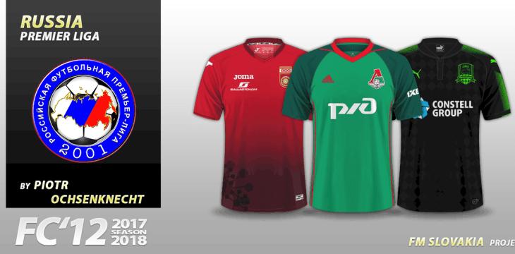 FC'12 Russia – Premier Liga 2017/18