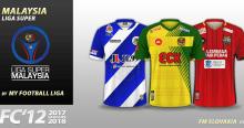 FC'12 Malaysia Liga Super 2018 kits