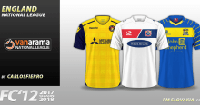 FC'12 England National League 2017/18 kits