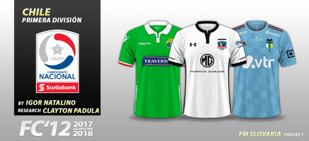 Football Manager 2019 Kits - FC'12 Chile – Primera A 2018