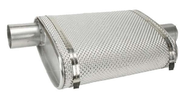 exhaust muffler heat shield
