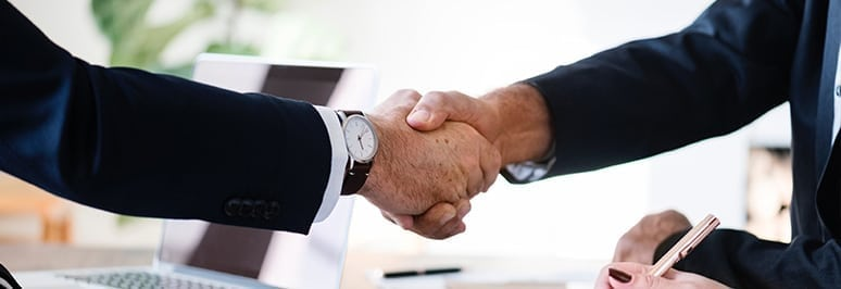 Blog handshake - Your Successful IWMS Implementation, Guaranteed