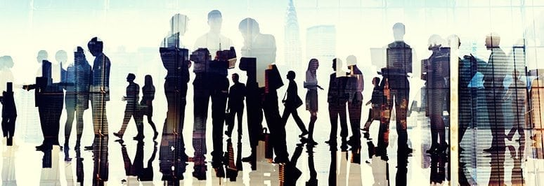 blog business silhouette - Beyond the Beanbag - The components of a truly employee-centric workplace