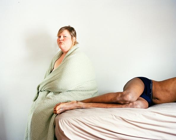Steve and I, 2006 by Jen Davis