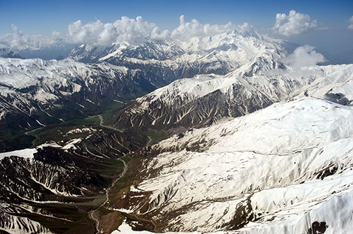 Pamirs from Above