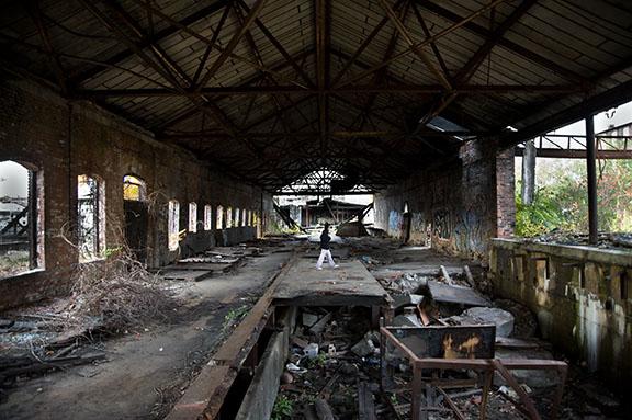 Post Industrial Interior, Frank Ward