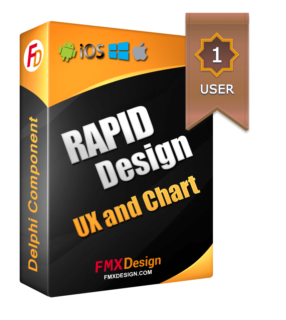 Rapid Design FMX Components (RDesign UX + Chart) v1.3 for DX10.3 Rio