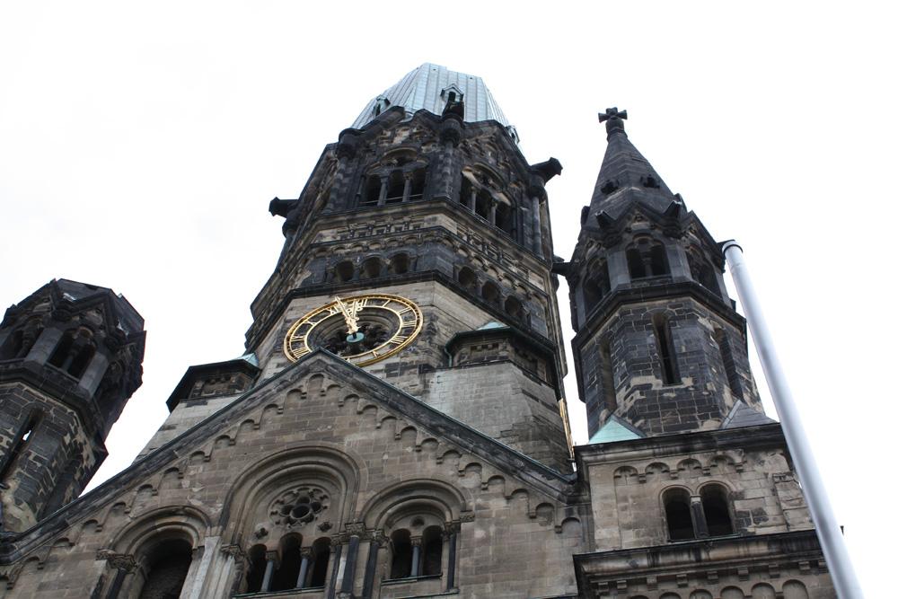 Berlins 12 distrikter Kaiser Wilhelm Gedächtniskirche