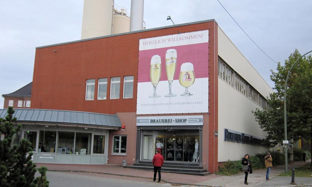 Berliner Kindl - bryggeriet i dag