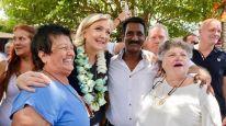 Marine Le Pen est bien arrivée sur l'île de La Réunion, chez nos compatriotes d'Outre-Mer !