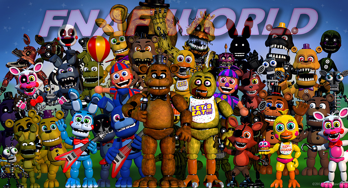 FNaF World Update 2 Download Free