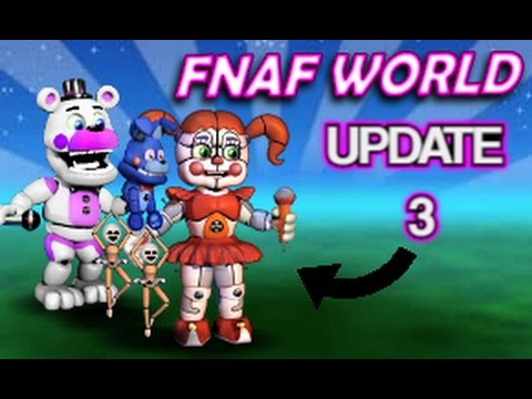 Fnaf World Update 3