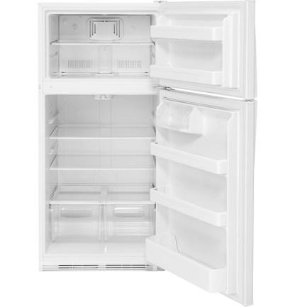 美國奇異GTS21FGKWW純白色上下門冰箱