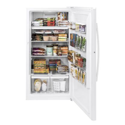 美國奇異FUF17DLRWW立式冰櫃