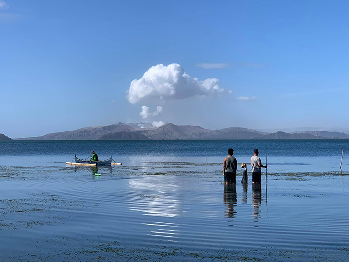 Fish from Taal lake is now unsafe due to the amount of ashfall and volcanic debris in the water