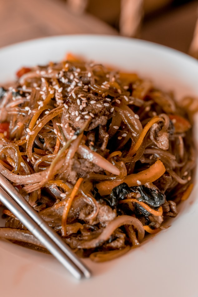 noodles for healthier menu option
