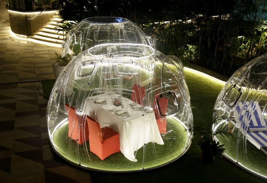 outdoor pods