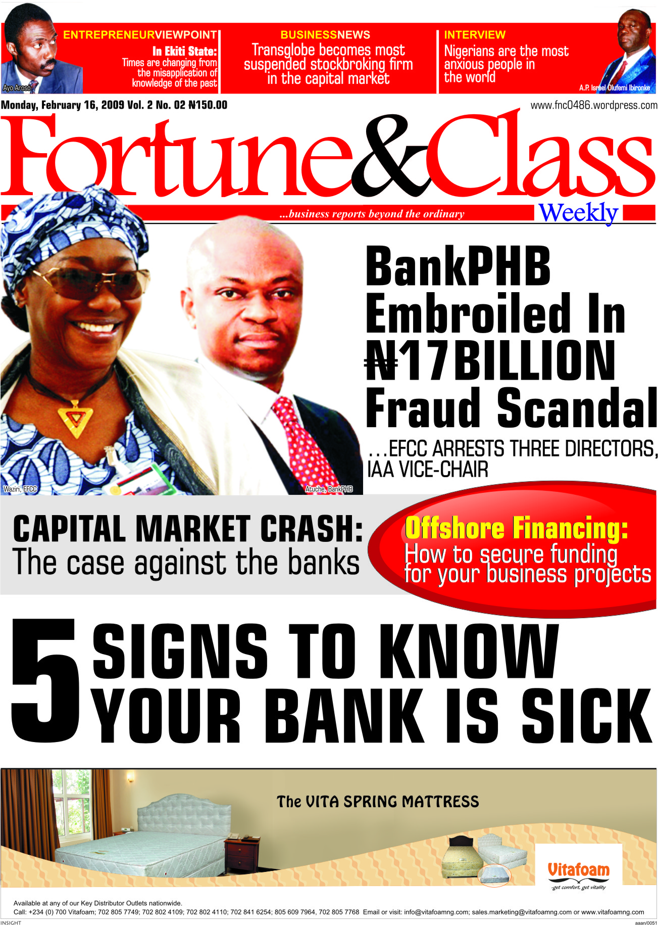 Fortune&Class Weekly