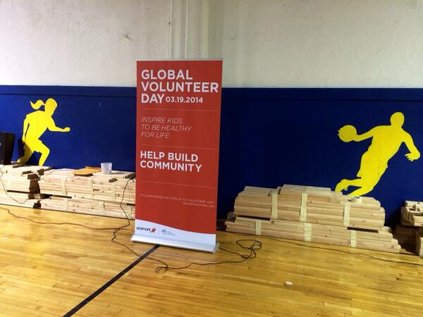 Aramark Global Volunteer Day