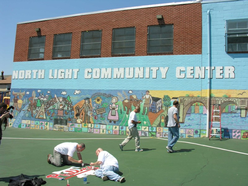 north light community center painting