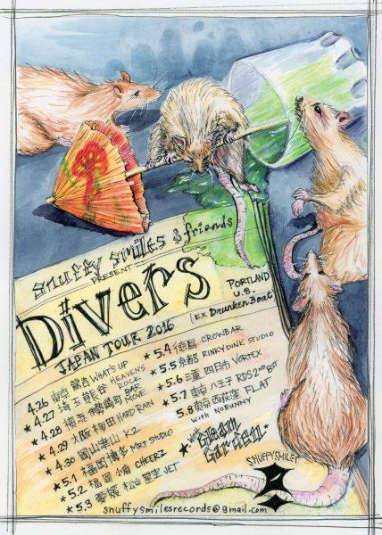 Divers tour 2016